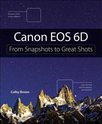 Canon Eos 6d By Peachpit Press